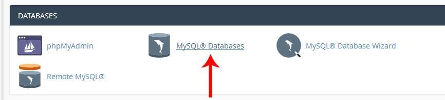 create database-آموزش نصب وردپرس روی cpanel
