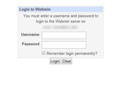 login-آموزش نصب webmin روی centos