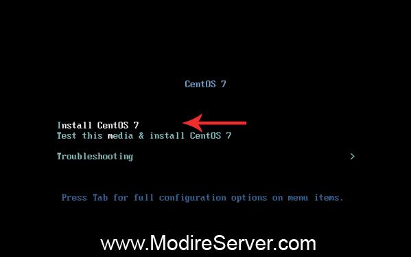 install-آموزش نصب لینوکس سنتواس