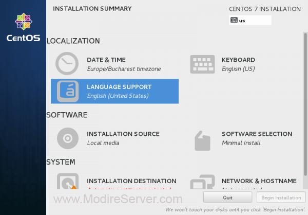 lang-آموزش نصب لینوکس