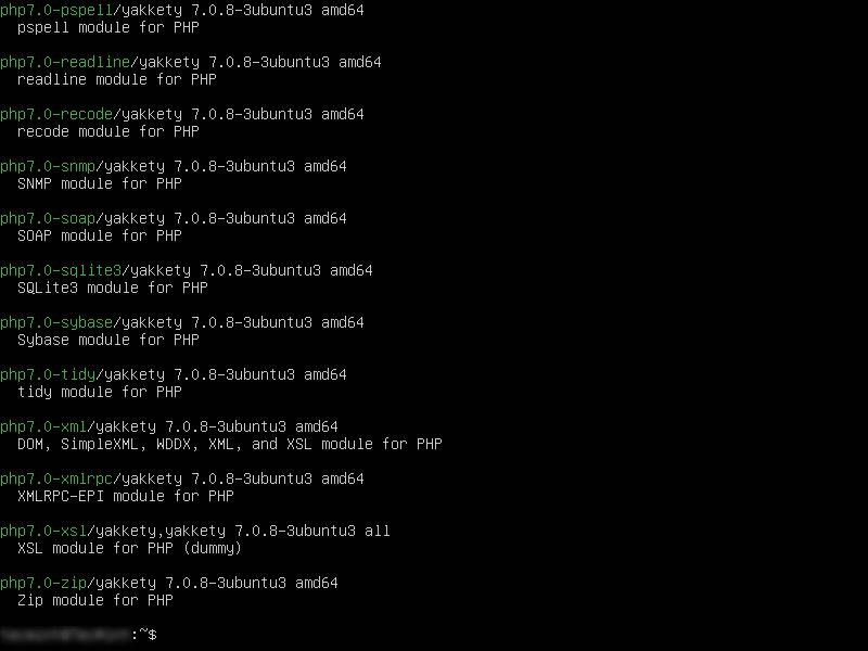 نصب ماژول php