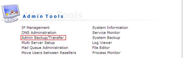 admin backup restore-ریستور بک آپ دایرکت ادمین