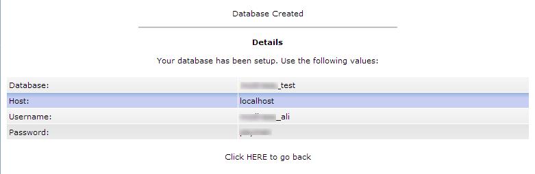 database created-آموزش ساخت دیتابیس در mysql
