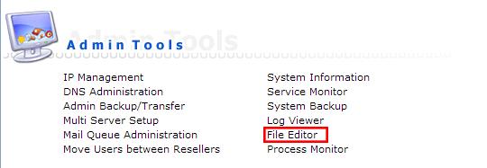 file editor-رفع مشکل timeout در دایرکت ادمین