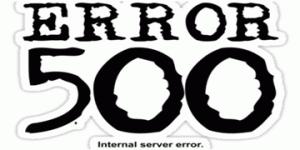 solve internal server error