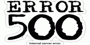solve internal server error