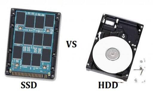 تفاوت هارد ssd با hdd