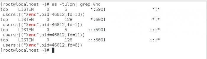 listening port-نصب vnc در لینوکس