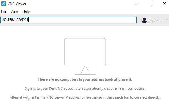 login-نصب vnc در لینوکس