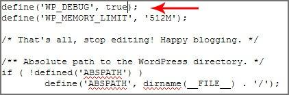 wp-debug-رفع خطاهای وردپرس