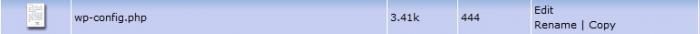 config file-رفع خطاهای وردپرس