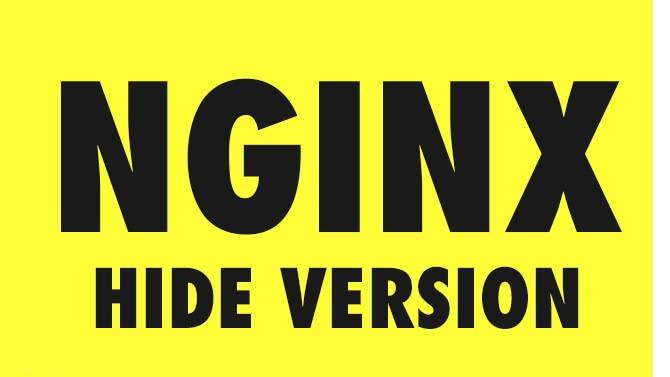 مخفی کردن ورژن nginx