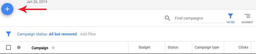 ایجاد کمپین گوگل ادوردز