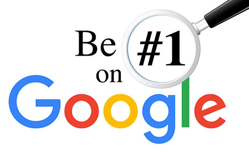 قرار گیری در صفحه اول گوگل