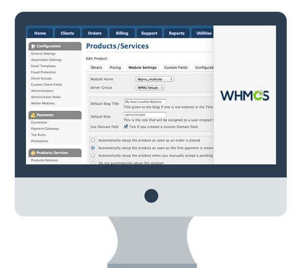 آموزش تنظیمات مالی در WHMCS
