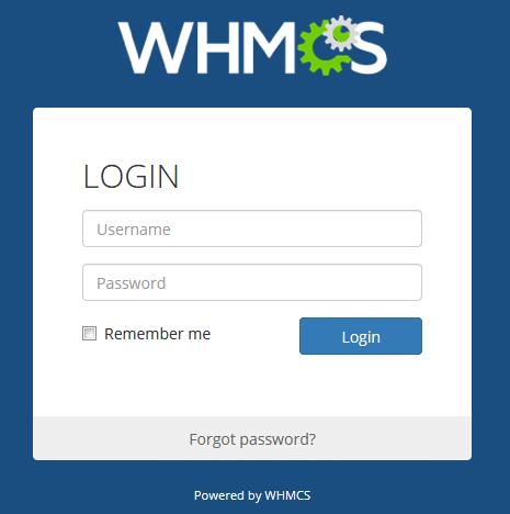 ورود به ادمین whmcs